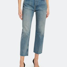High Rise Stove Pipe Jeans   Verishop