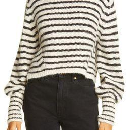 Kara Stripe Crop Sweater   Nordstrom