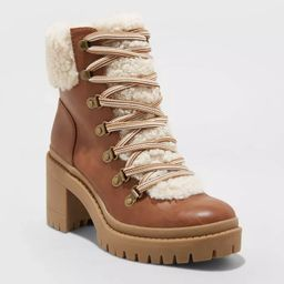 Women's Aubrie Heeled Hiking Boots - Universal Thread™   Target