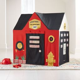 Fire Station Playhouse + Reviews   Crate and Barrel   Crate & Barrel