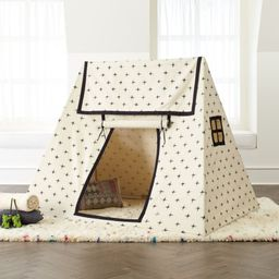 Ikat White Playhouse + Reviews   Crate and Barrel   Crate & Barrel