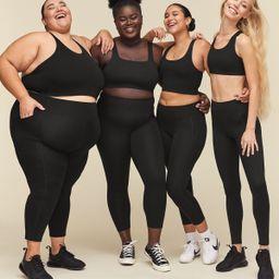Black Compressive High-Rise Legging | Girlfriend Collective