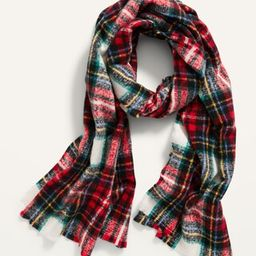 Soft-Brushed Flannel Scarf for Women | Old Navy (US)