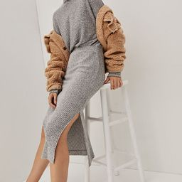 Mariah Ribbed Knit Maxi Dress | Anthropologie (US)