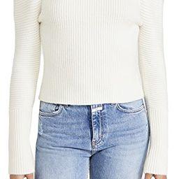 Kaylee Turtleneck Puff Sweater   Shopbop