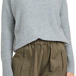 Boiled Funnel Neck Cashmere Pullover   Shopbop