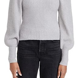 Kimberly Square Neck Ribbed Sweater   Shopbop