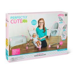 Perfectly Cute Deluxe Nursery 4pc Set   Target