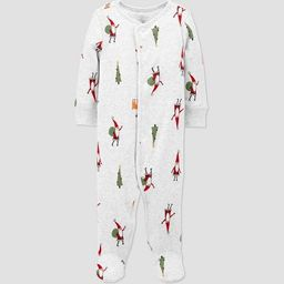 Baby Organic Cotton Christmas Sleep N' Play - little planet organic by carter's White | Target