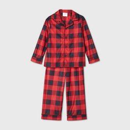 Toddler Holiday Buffalo Check Flannel Matching Family Pajama Set - Wondershop™ Red | Target