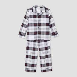 Toddler Holiday Plaid Flannel Matching Family Pajama Set - Wondershop™ White | Target