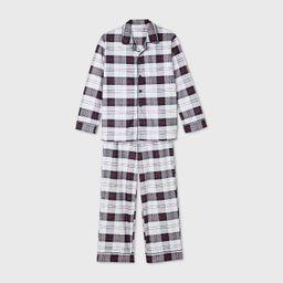 Kids' Holiday Plaid Flannel Matching Family Pajama Set - Wondershop™ White | Target