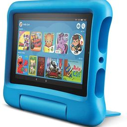 """Fire 7 Kids Edition Tablet, 7"""" Display, 16 GB, Easy-to-use Parental Controls, Blue Kid-Proof Case   Amazon (US)"""