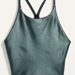 Light Support Powersoft Longline Sports Bra for Women   Old Navy (US)