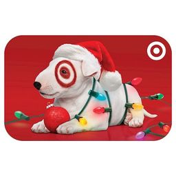 Puppy with Lights GiftCard   Target