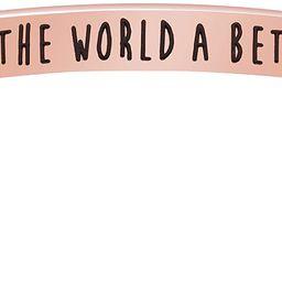 Joycuff Motivational Bracelet for Women Cuff Bangle Stainless Steel Open Engraved Inspirational J...   Amazon (US)