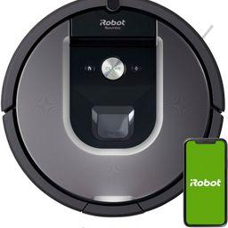 iRobot Roomba 960 Wi-Fi Connected Robot Vacuum Gray R960020 - Best Buy | Best Buy U.S.