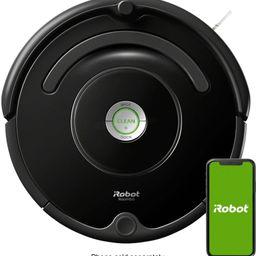 iRobot Roomba 675 Wi-Fi Connected Robot Vacuum Black R675020 - Best Buy | Best Buy U.S.