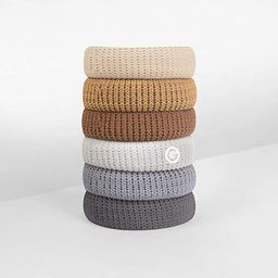 GIMME Bands No Break Thick Hair Ties, 6PC. Available in eight different styles, also available a ...   Amazon (US)