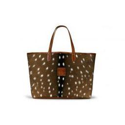 St. Anne Tote - Leather Patch   Barrington Gifts