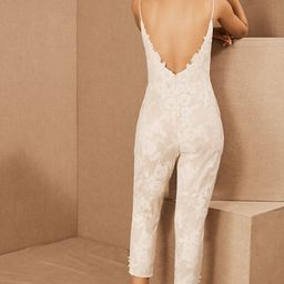 Hayley Paige Campbell Lace Jumpsuit   BHLDN