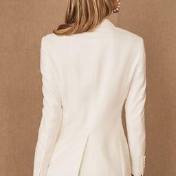 The Tailory New York x BHLDN Westlake Suit Jacket   BHLDN