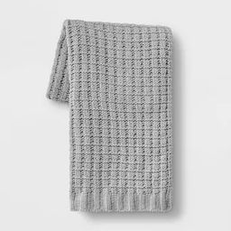 Solid Chenille Throw Blanket - Threshold™ | Target