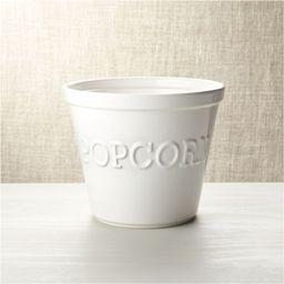 Large Popcorn Bowl + Reviews | Crate and Barrel | Crate & Barrel
