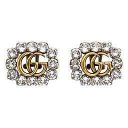 Gucci GG Crystal Stud Earrings | Nordstrom | Nordstrom