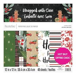 """Wrapped with Care Paper Pad by Recollections™, 12"""" x 12"""" 