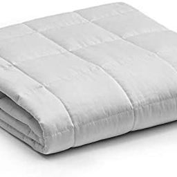 YnM Weighted Blanket — Heavy 100% Oeko-Tex Certified Cotton Material with Premium Glass Beads (... | Amazon (US)