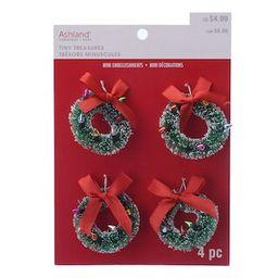 Tiny Treasures Mini Wreath Embellishments by Ashland® | Michaels Stores