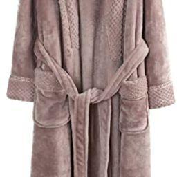 Richie House Women's Plush Soft Warm Fleece Bathrobe Robe RH1591 | Amazon (US)