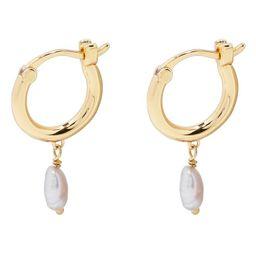 gorjana Perla Cultured Pearl Huggie Hoop Earrings | Nordstrom | Nordstrom