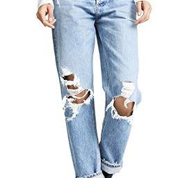 '90s Fit Mid Rise Loose Fit Jeans   Shopbop