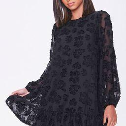 Floral-Embellished Peasant Dress   Forever 21 (US)