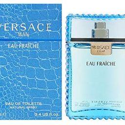 Versace Man Eau Fraiche By Gianni Versace For Men Edt Spray 3.4 Fl Oz | Amazon (US)
