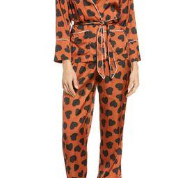 KILO BRAVA Leo Love Wrap Pajamas | Nordstrom | Nordstrom