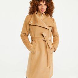 Belted Funnel Neck Coat | Ann Taylor | Ann Taylor (US)