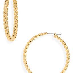 Braided Hoop Earrings | Nordstrom