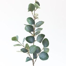 """Artificial Eucalyptus Leaf in Grey Green - 30"""" Tall   Afloral (US)"""