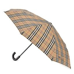Folding Trafalagar Check Umbrella | Saks Fifth Avenue