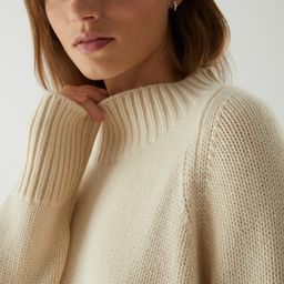 CASHMERE CHUNKY ROLL-NECK JUMPER | COS (Global)