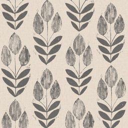 NuWallpaper Folk Tulip Vinyl Strippable Wallpaper (Covers 30.75 sq. ft.), Neutral | The Home Depot