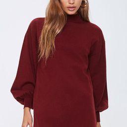 Mock Neck Sweater Dress   Forever 21 (US)