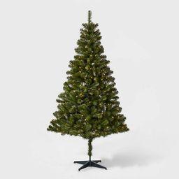 6ft Pre-lit Artificial Christmas Tree Alberta Spruce Clear Lights - Wondershop™ | Target