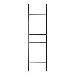 Metal Leaner 5.5 ft Blanket Ladder Color: Black | Wayfair North America