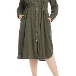 Karen Kane | Long Sleeve Shirtdress | Nordstrom Rack | Nordstrom Rack