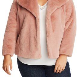 1.State | Faux Mink Wide Collar Jacket | Nordstrom Rack | Nordstrom Rack