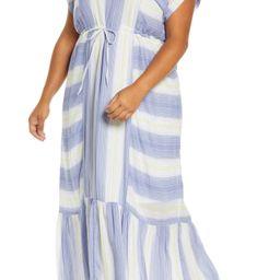 Caslon® | Tie Waist Ruffle Hem Maxi Dress | Nordstrom Rack | Nordstrom Rack